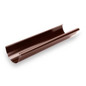 Желоб металлический Галеко цвет шоколадно коричневый