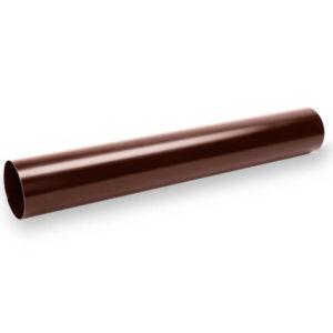 Водосточная труба Галеко цвет шоколадно коричневый