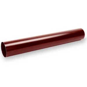 труба водосточная Галеко цвет темно красный