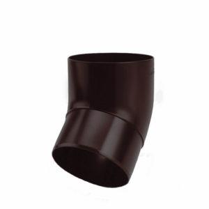 колено водосточной трубы цвет темно коричневый