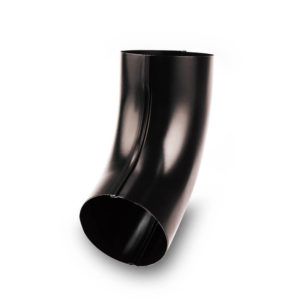 колено водосточной трубы Галеко цвет черный