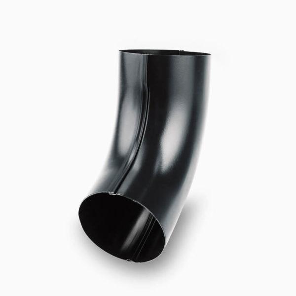 колено водосточной трубы Галеко цвет графитовый