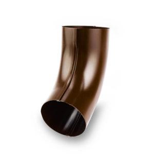 колено водосточной трубы Галеко цвет медный