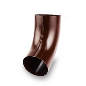 колено водосточной трубы Галеко цвет шоколадно коричневый
