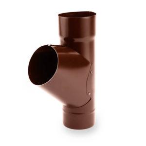 тройник водосточной трубы Galeco цвет шоколадно коричневый
