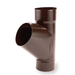 тройник водосточной трубы Galeco цвет темно коричневый