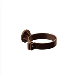 хомут водосточной трубы Galeco цвет шоколадно коричневый