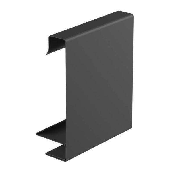 Декоративная планка квадратного желоба графитовый цвет