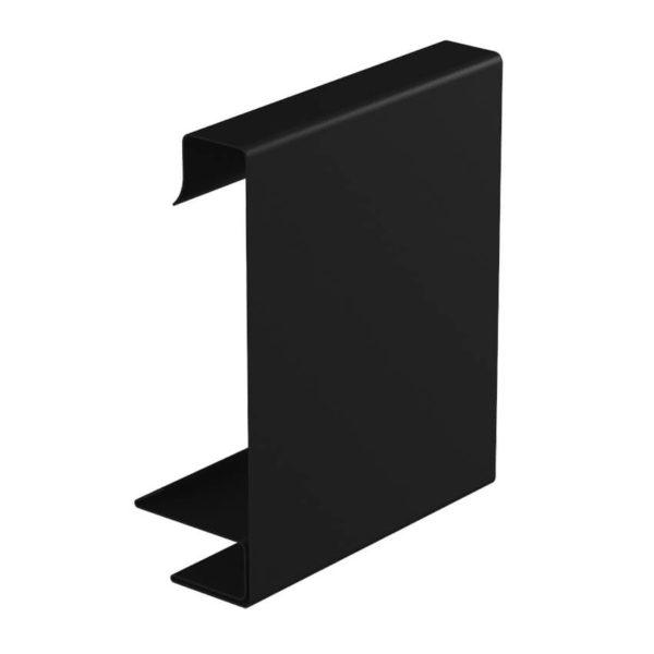 Декоративная планка квадратного желоба цвет черный