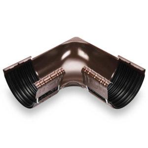 угол внутренний темно коричневый Галеко