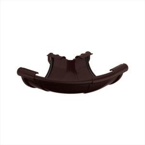 Угол внешний регулируемый 90°-150° диаметр 130 мм цвет темно коричневый
