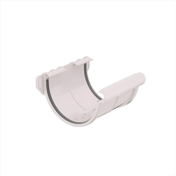 муфта желоба пластиковая водосточная система Галеко