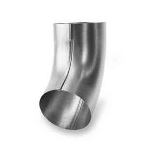 колено оцинкованной водосточной трубы Галеко