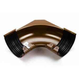 угол желоба внутренний стальной 135 градусов Галеко цвет медный