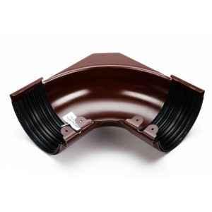 угол желоба внутренний Галеко цвет шоколадно коричневый