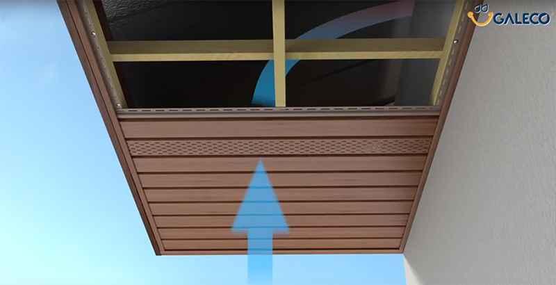 Галеко вентиляция крыши