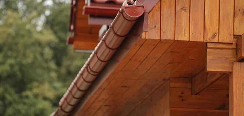 деревянный софит