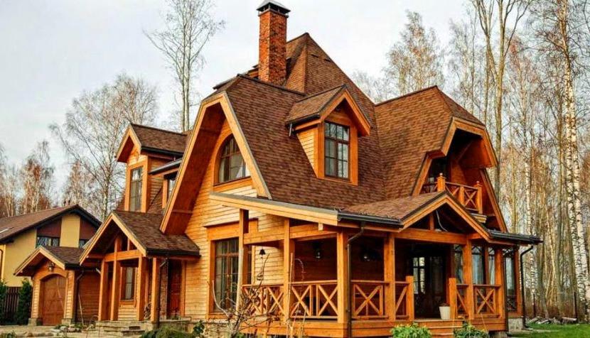 размеры водостока для сложной крыши